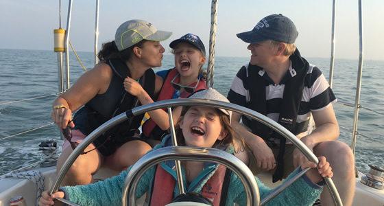 family fun sailing