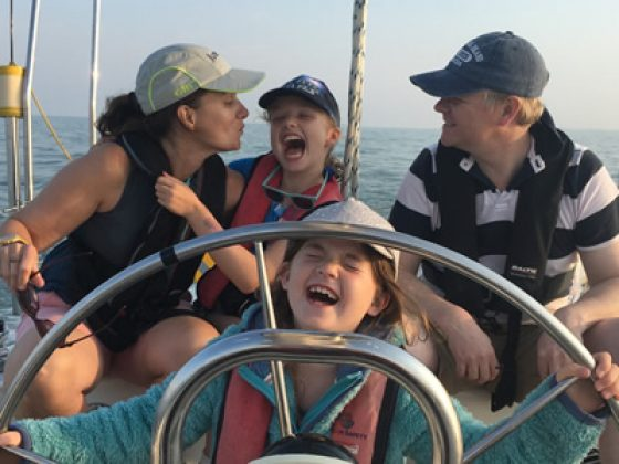 family fun sailing
