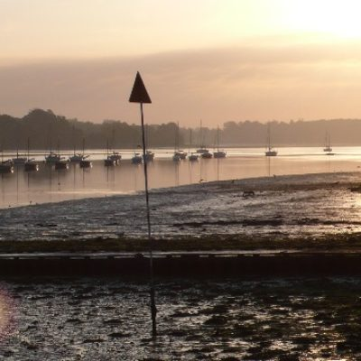 Low tide on the River Orwell