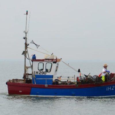 Fishing boat off Harwich