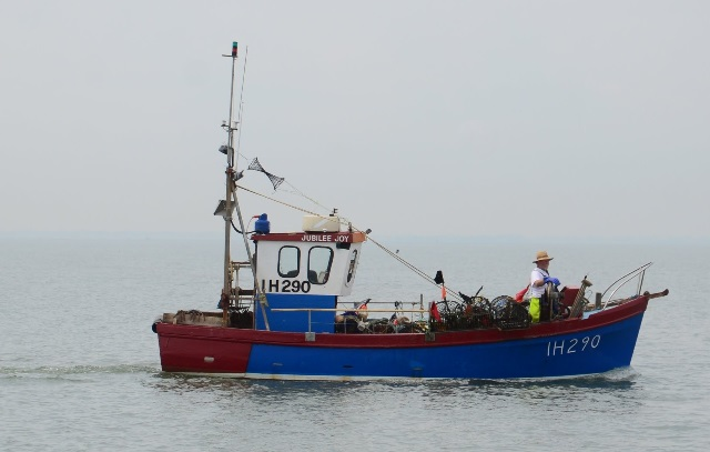 Fishing boat off Harwich