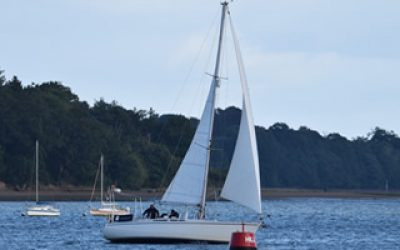 sailing river orwell suffolk